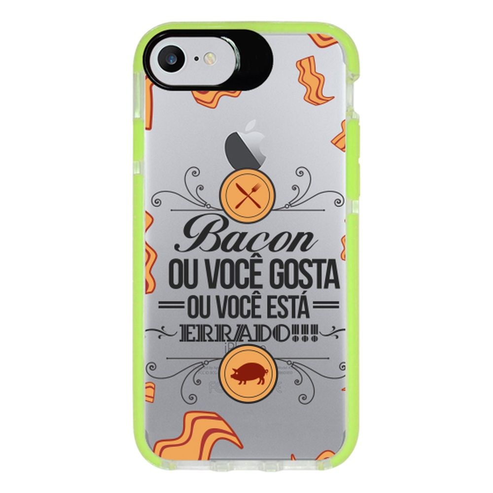 Capa Personalizada Intelimix Intelishock Verde Apple iPhone 7 - Frases - TP103