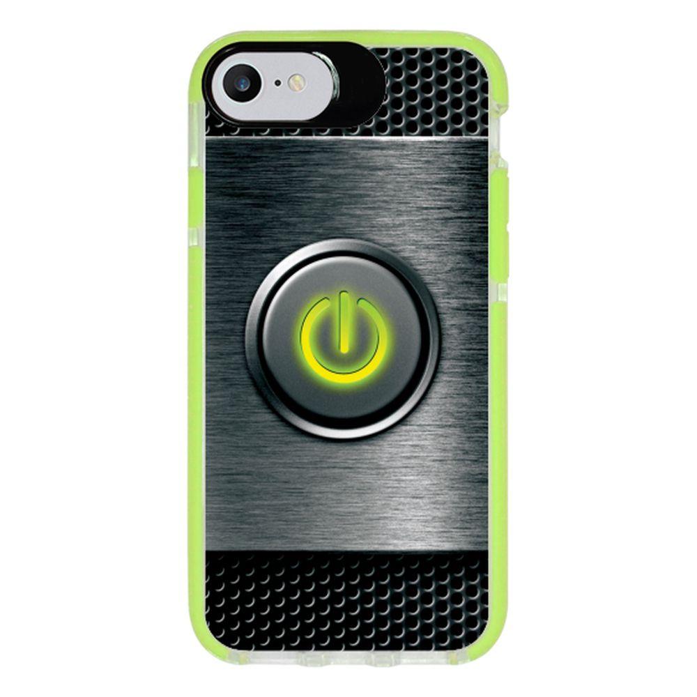 Capa Personalizada Intelimix Intelishock Verde Apple iPhone 7 - Hightech - HG07