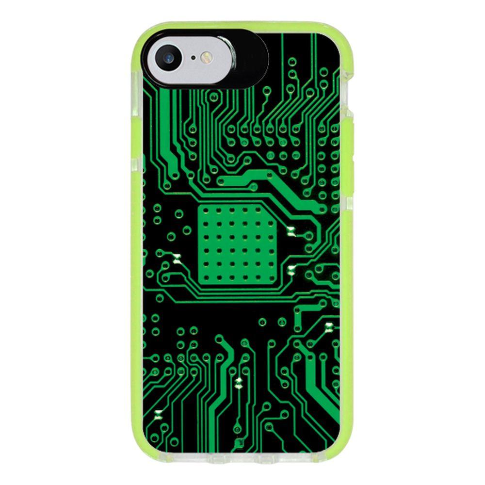 Capa Personalizada Intelimix Intelishock Verde Apple iPhone 7 - Hightech - HG08