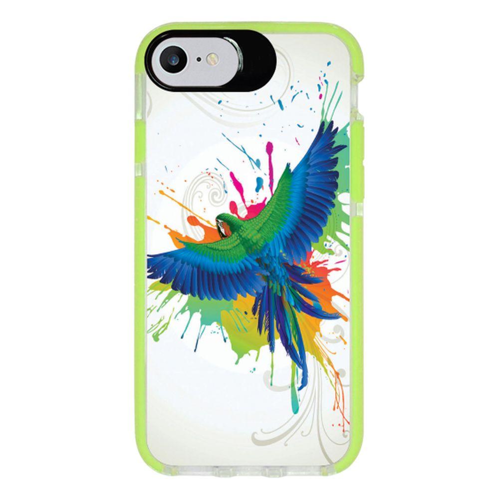 Capa Personalizada Intelimix Intelishock Verde Apple iPhone 7 - Pets - PE18