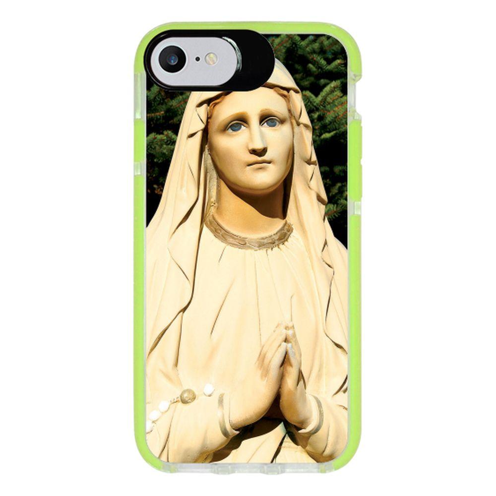 Capa Personalizada Intelimix Intelishock Verde Apple iPhone 7 - Religião - RE07