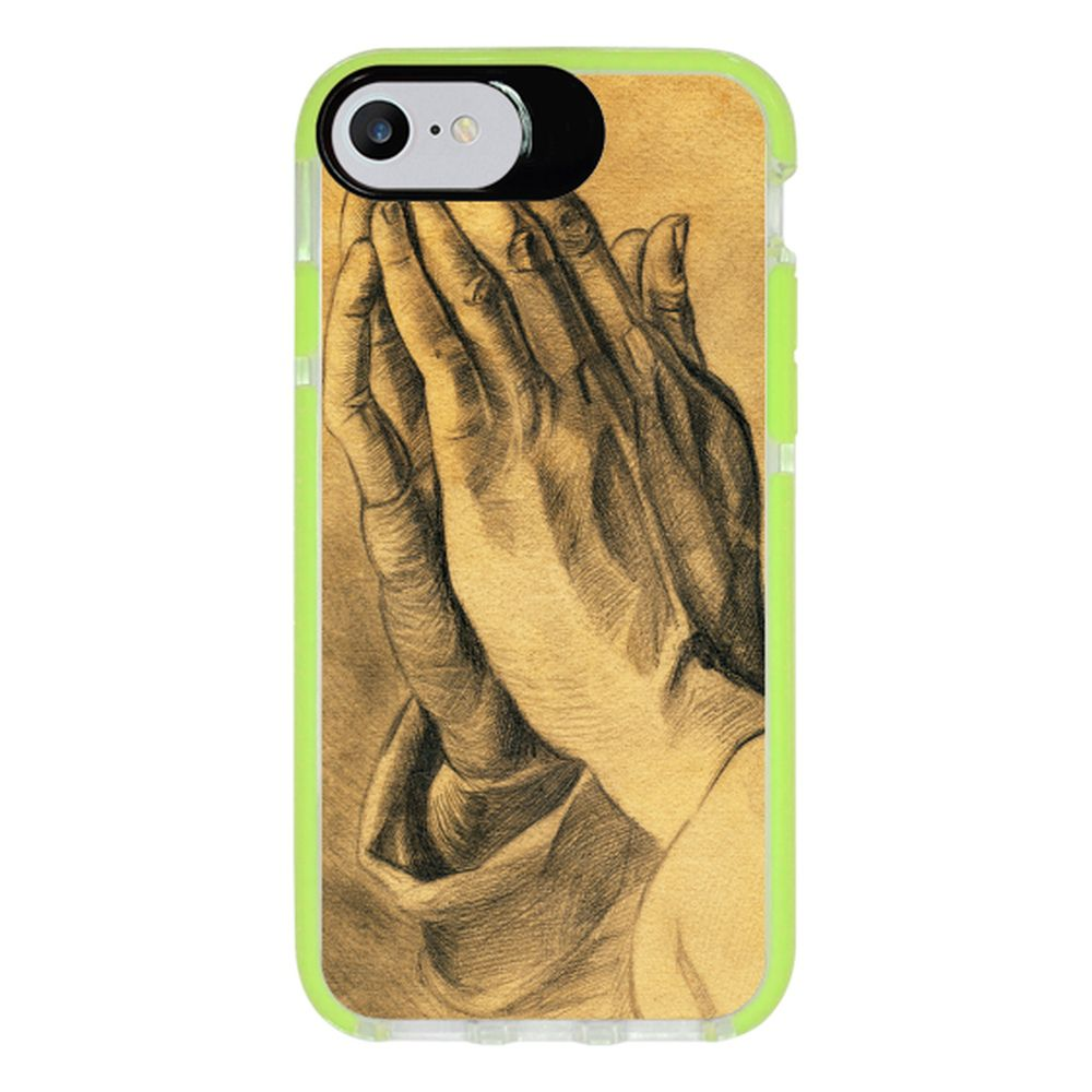 Capa Personalizada Intelimix Intelishock Verde Apple iPhone 7 - Religião - RE16