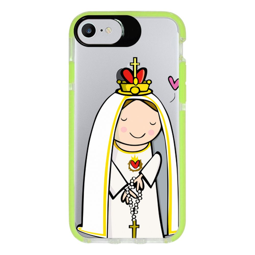 Capa Personalizada Intelimix Intelishock Verde Apple iPhone 7 - Religião - TP353