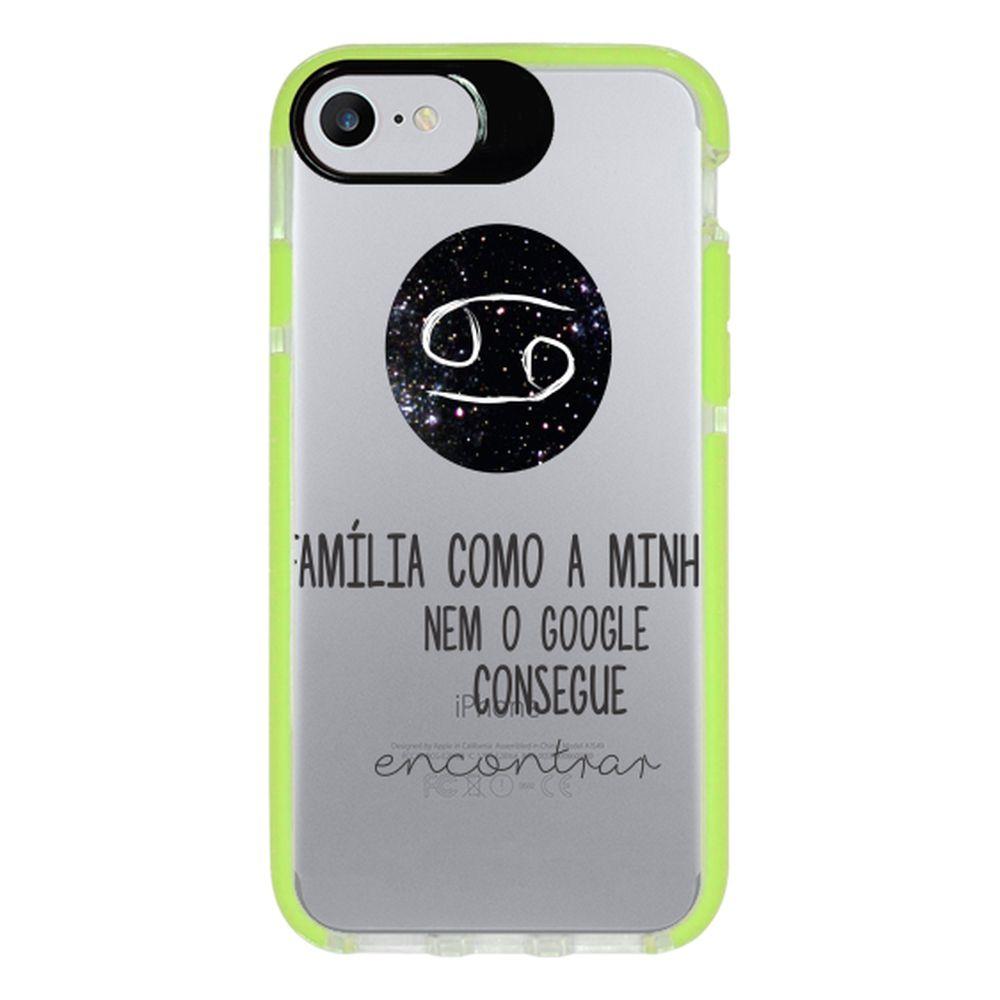 Capa Personalizada Intelimix Intelishock Verde Apple iPhone 7 - Signos - SN16