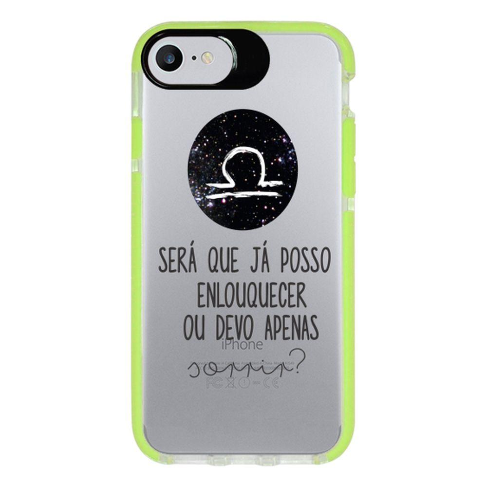Capa Personalizada Intelimix Intelishock Verde Apple iPhone 7 - Signos - SN19