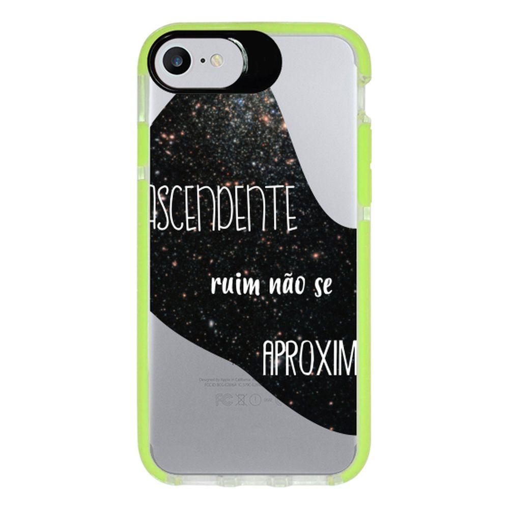 Capa Personalizada Intelimix Intelishock Verde Apple iPhone 7 - Signos - SN38