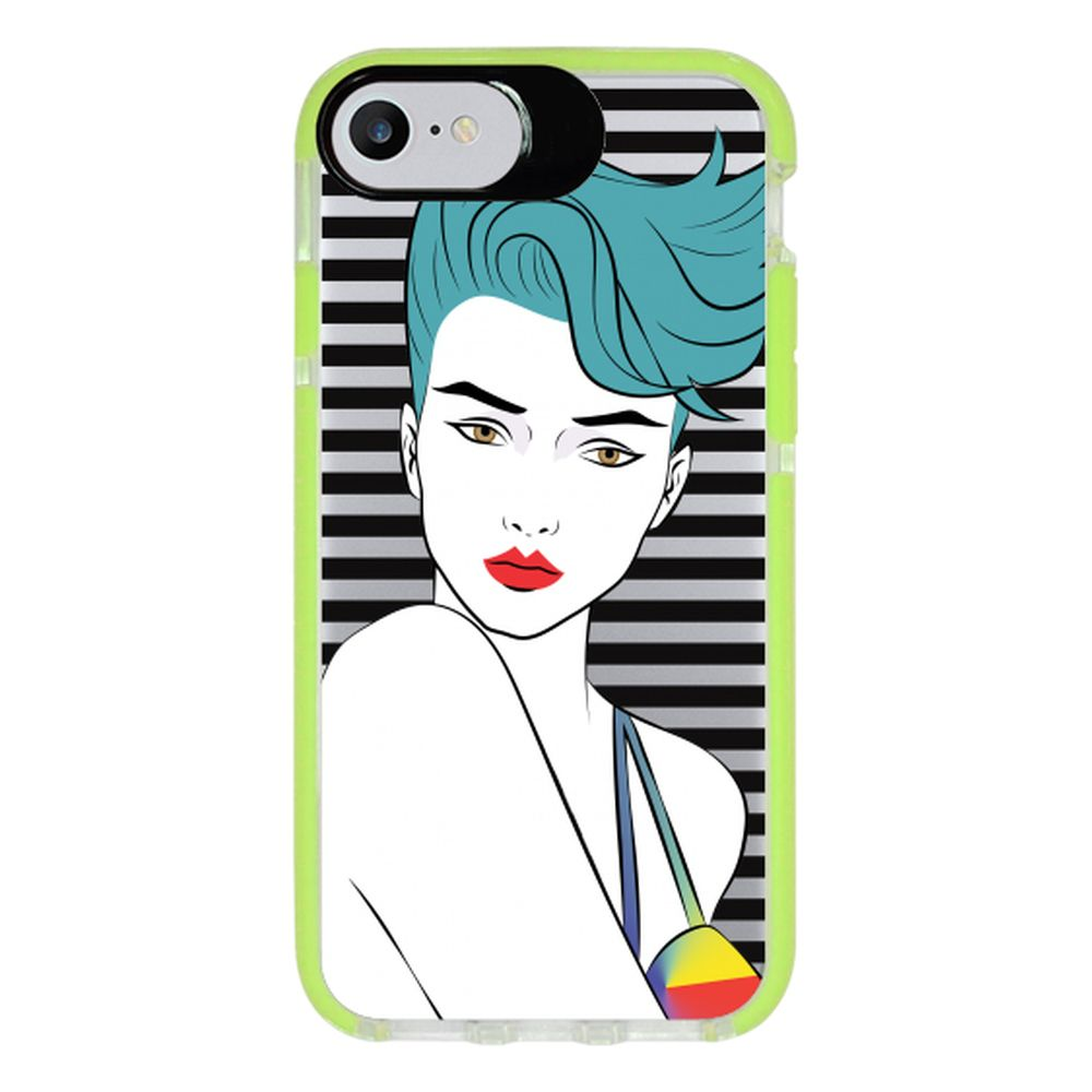 Capa Personalizada Intelimix Intelishock Verde Apple iPhone 7 - Style - TP265
