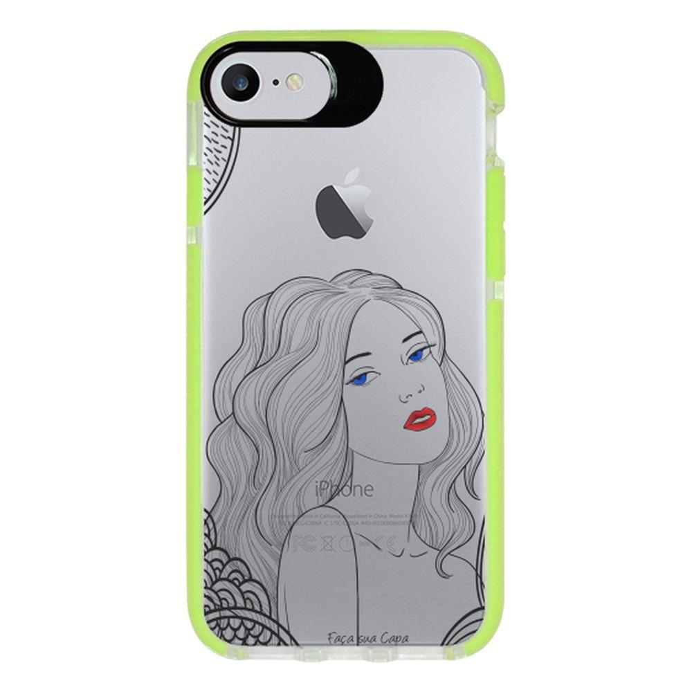 Capa Personalizada Intelimix Intelishock Verde Apple iPhone 7 - Style - TP266
