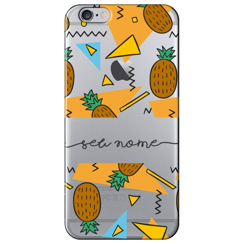 Capa Personalizada Iphone 6 6s Plus Com Nome - NM12