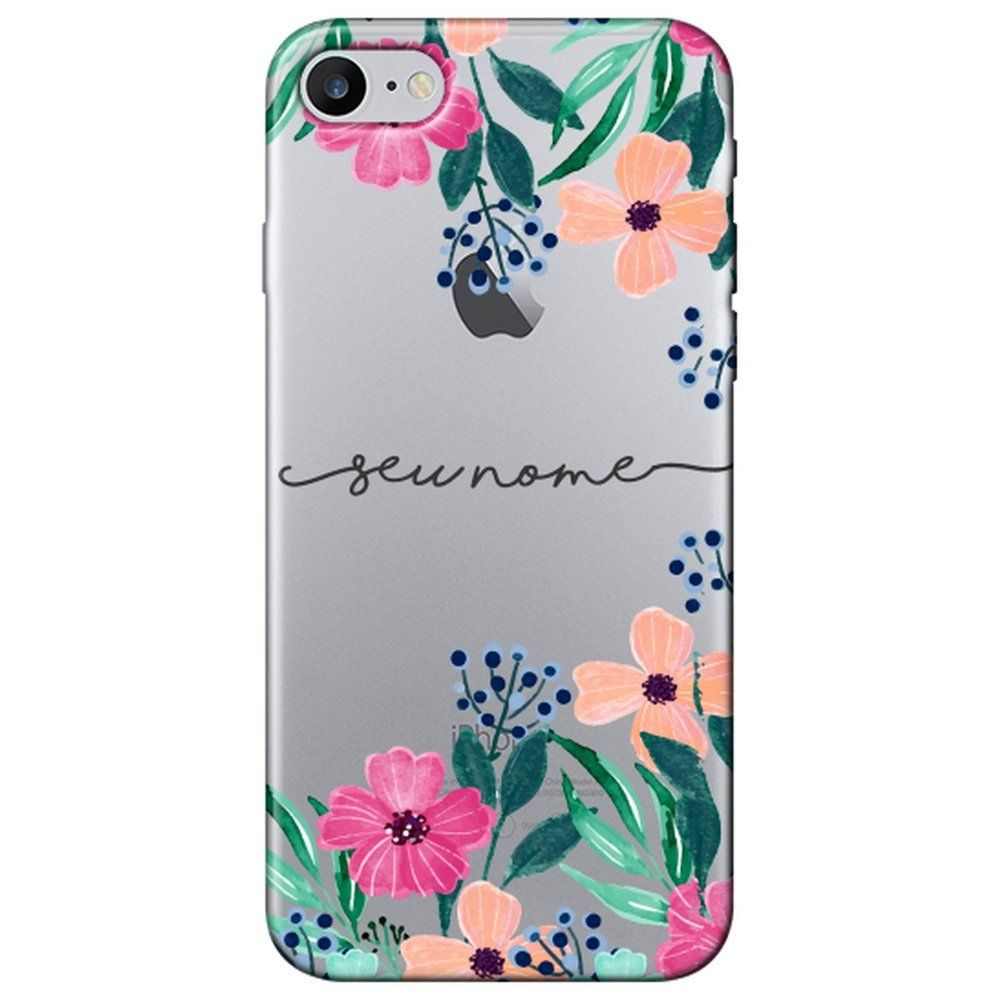 Capa Personalizada Iphone 7 Com Nome - NM07