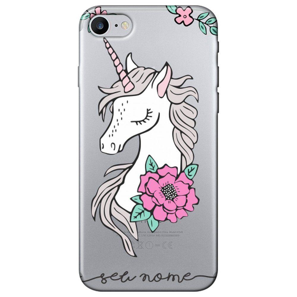 Capa Personalizada Iphone 7 Com Nome - NM09