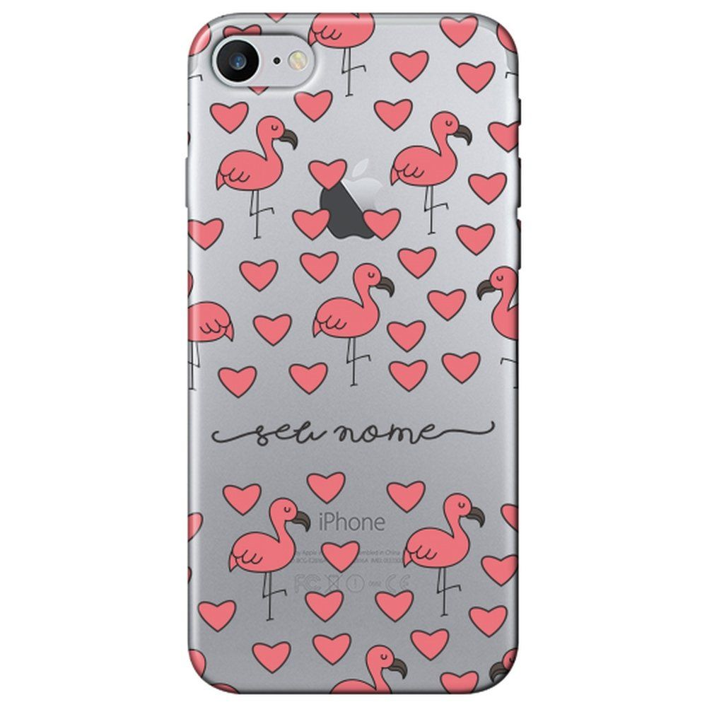 255f8821f Capa Personalizada Iphone 7 Com Nome - NM11 Matecki Commerce ...