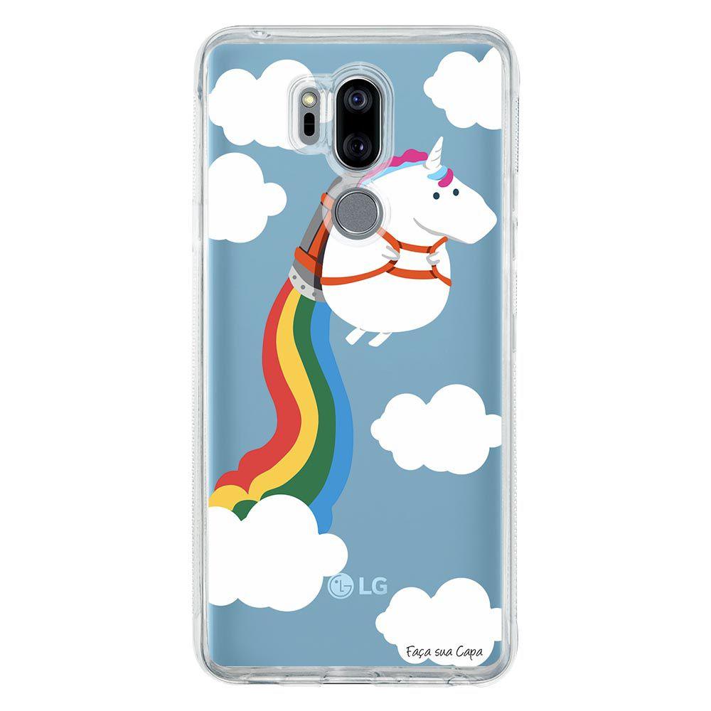Capa Personalizada para LG G7 ThinQ G710 Unicórnio - TP184