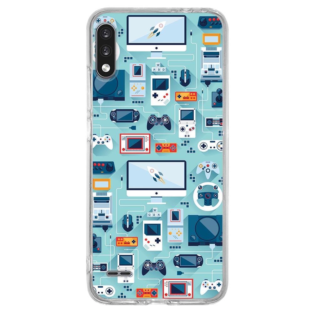 Capa Personalizada LG K22 K200 - Games - VT13