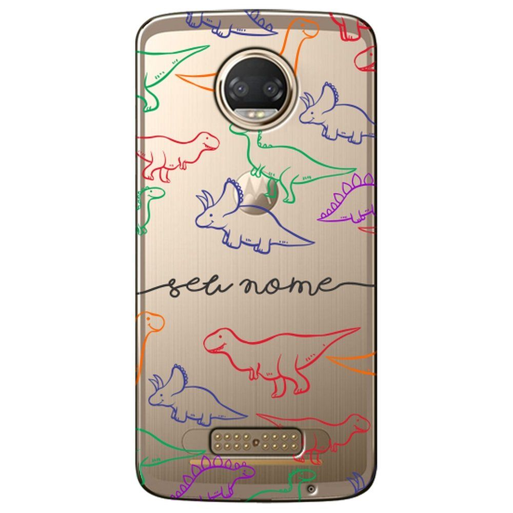 Capa Personalizada Moto Z2 Force - NM10