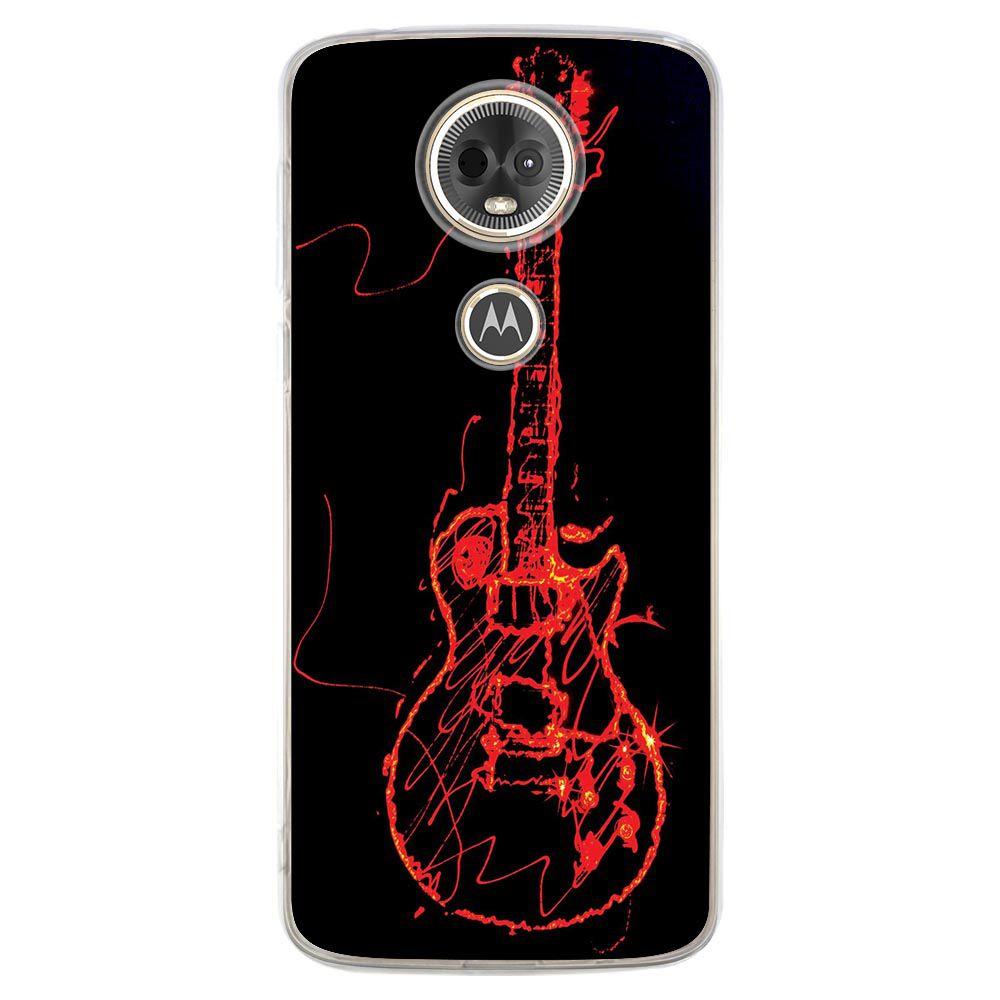 Capa Personalizada para Motorola Moto E5 Plus - Música - MU11