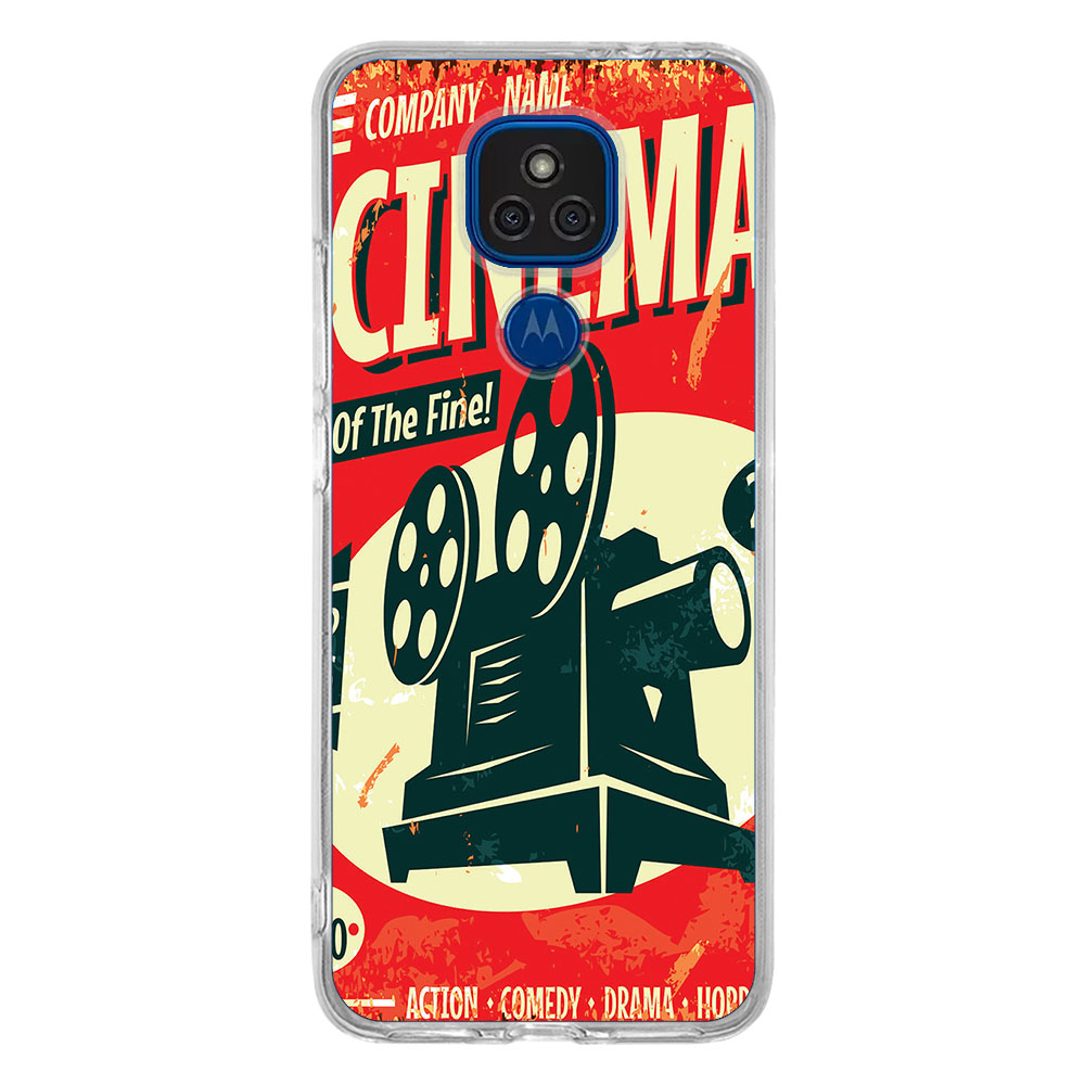 Capa Personalizada Motorola Moto E7 Plus XT2081 - Cinema - VT08