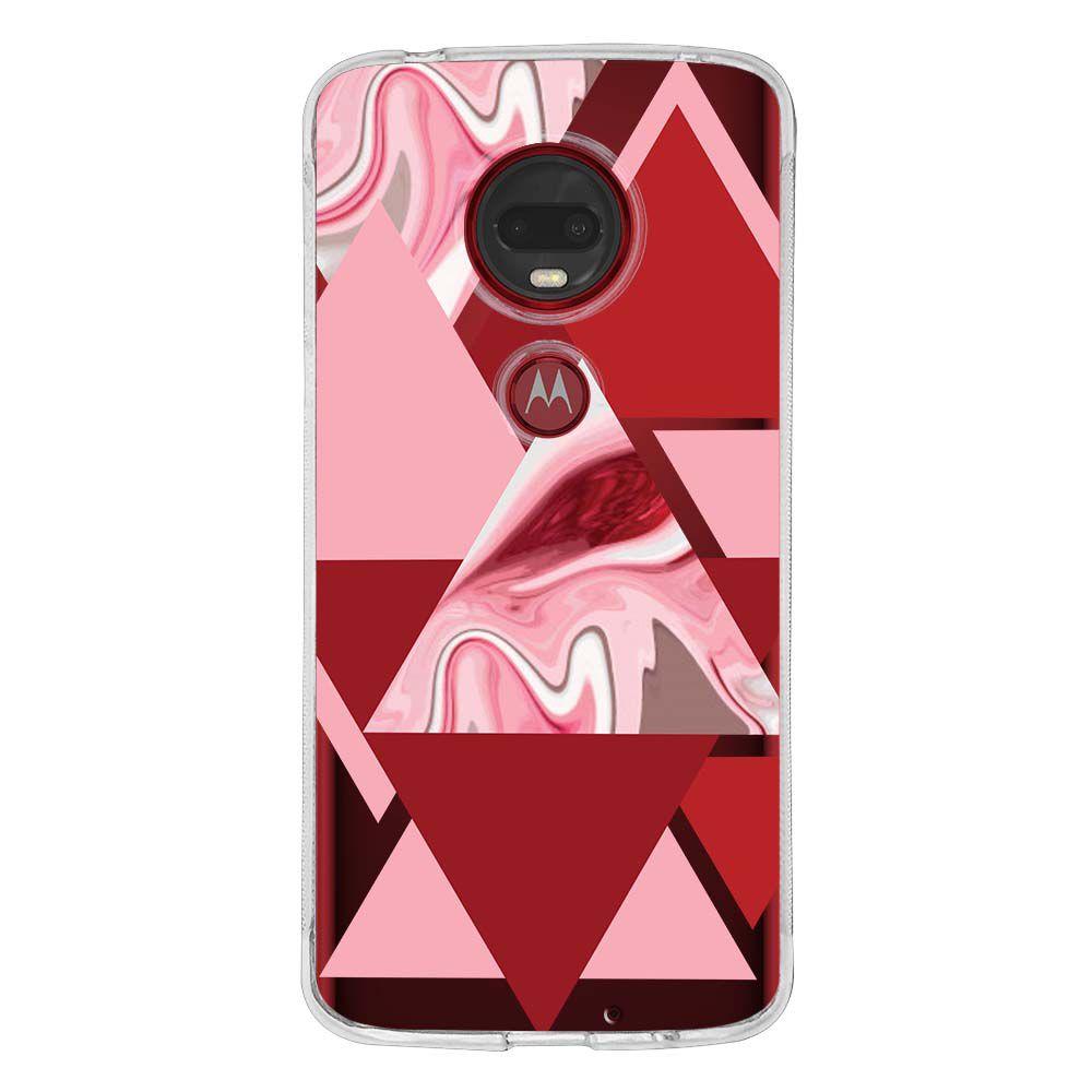 Capa Personalizada Motorola Moto G7 Plus XT1965 Mármore - MM08