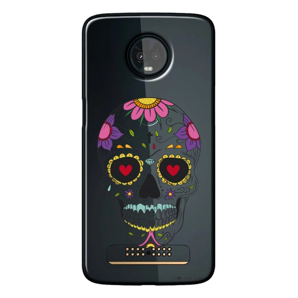 Capa Personalizada para Motorola Moto Z3 Play - Caveira Mexicana - TP242