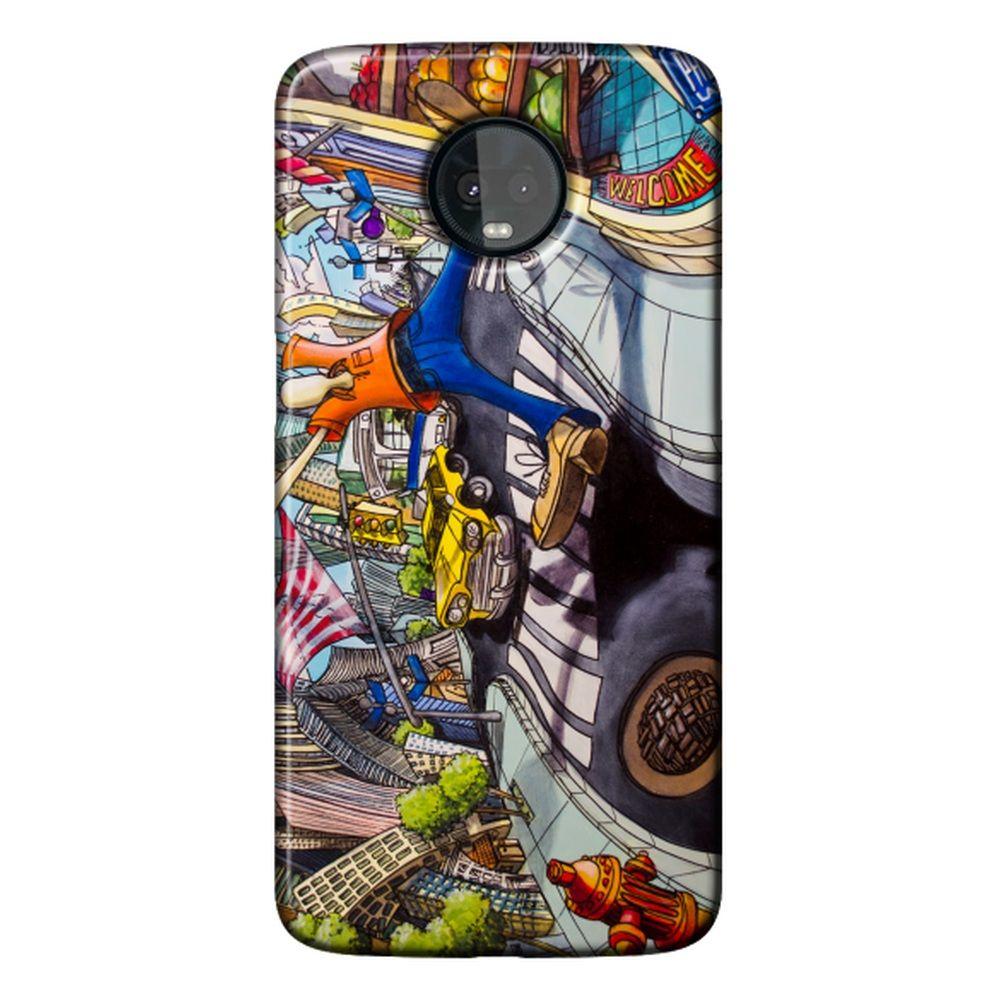 Capa Personalizada para Motorola Moto Z3 Play - Designer - DE27