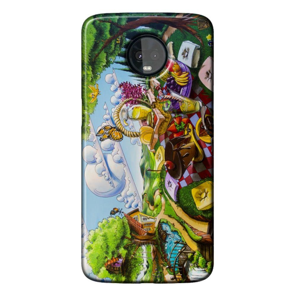 Capa Personalizada para Motorola Moto Z3 Play - Designer - DE32
