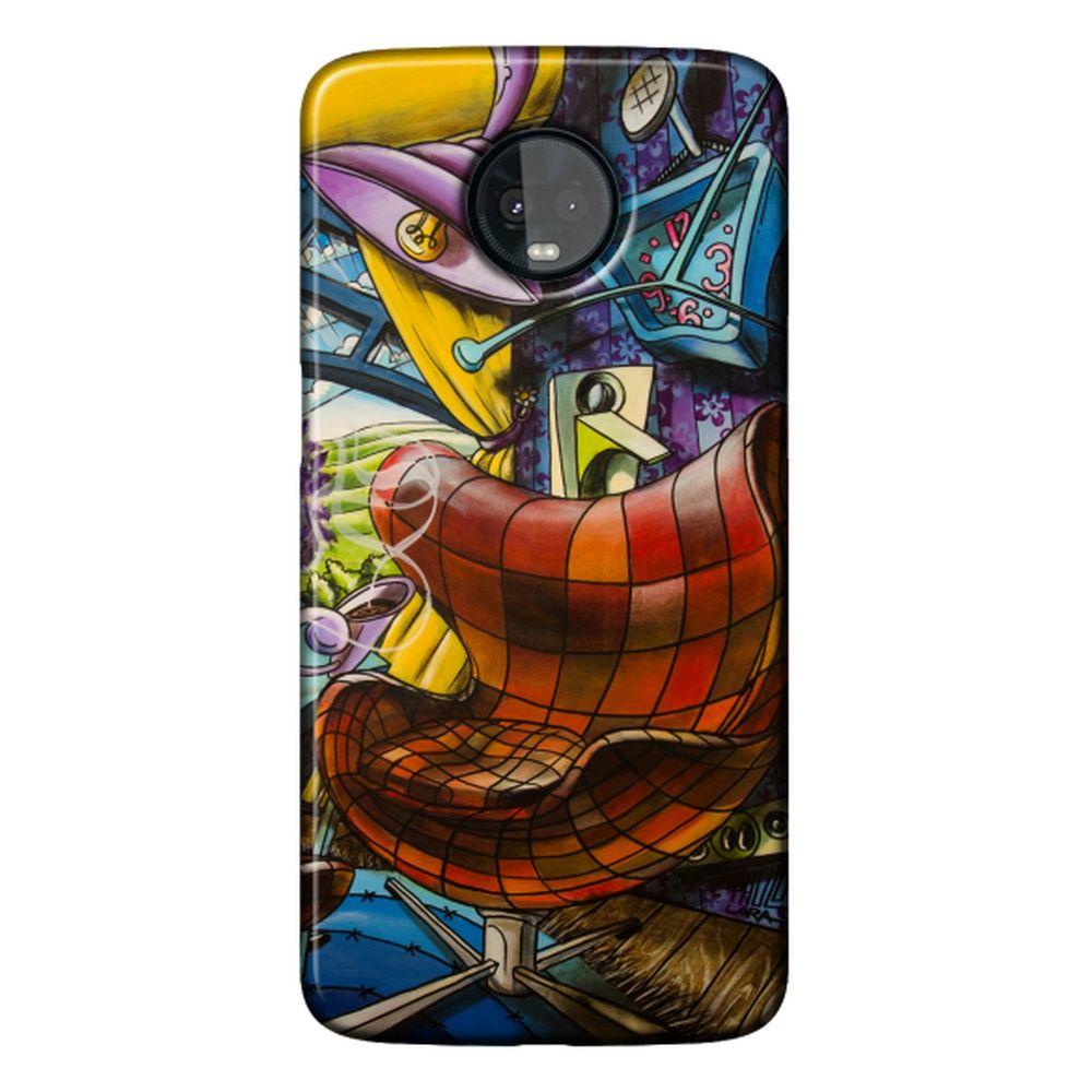 Capa Personalizada para Motorola Moto Z3 Play - Designer - DE33