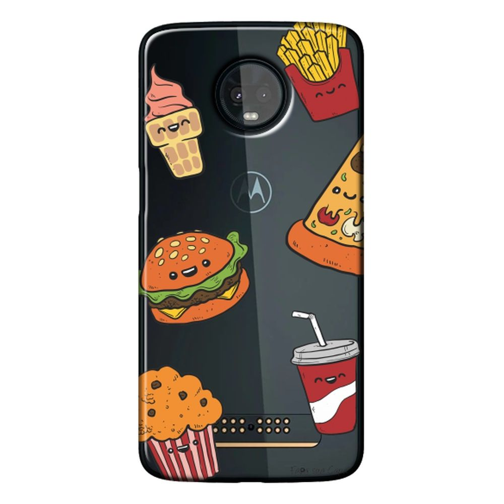 Capa Personalizada para Motorola Moto Z3 Play - Food - TP106