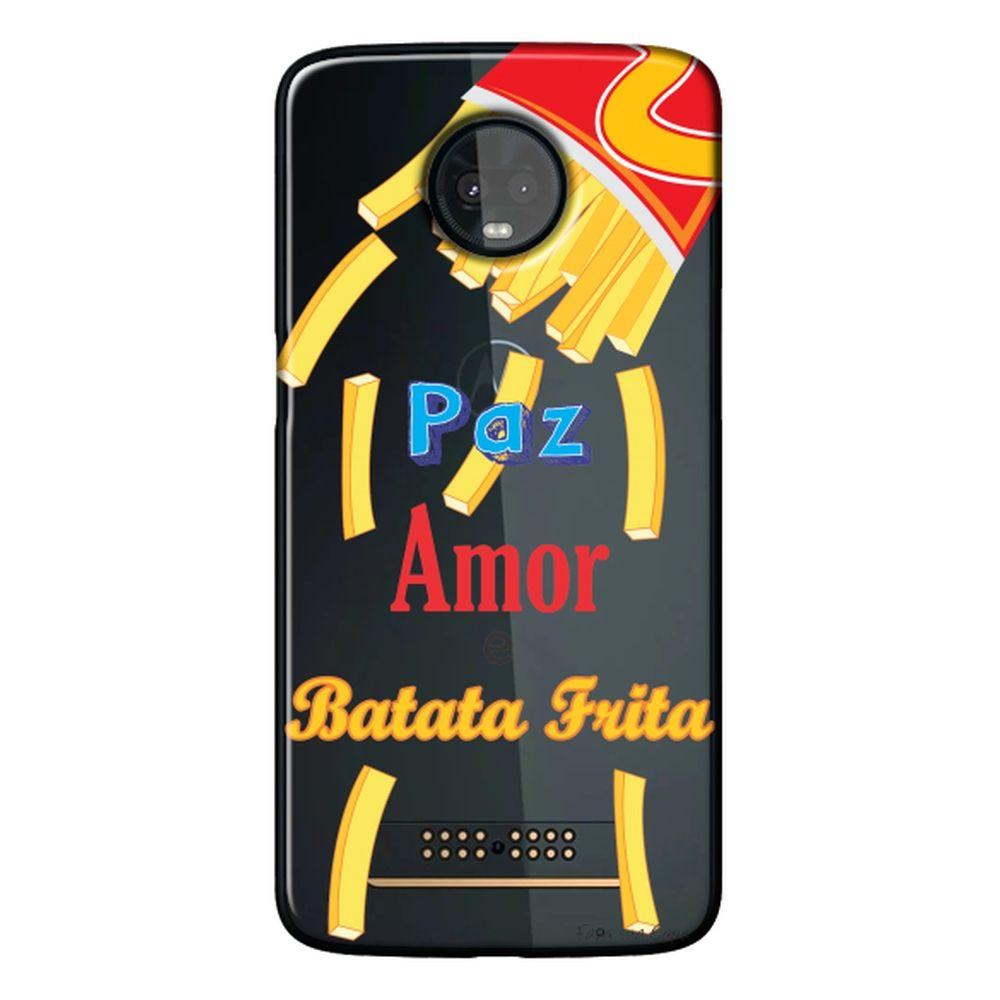 Capa Personalizada para Motorola Moto Z3 Play - Frases - TP104