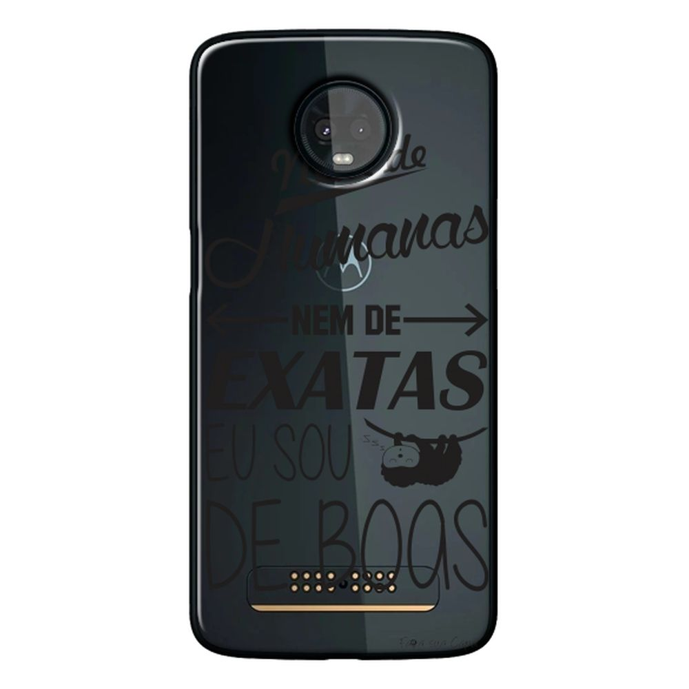 Capa Personalizada para Motorola Moto Z3 Play - Frases - TP122
