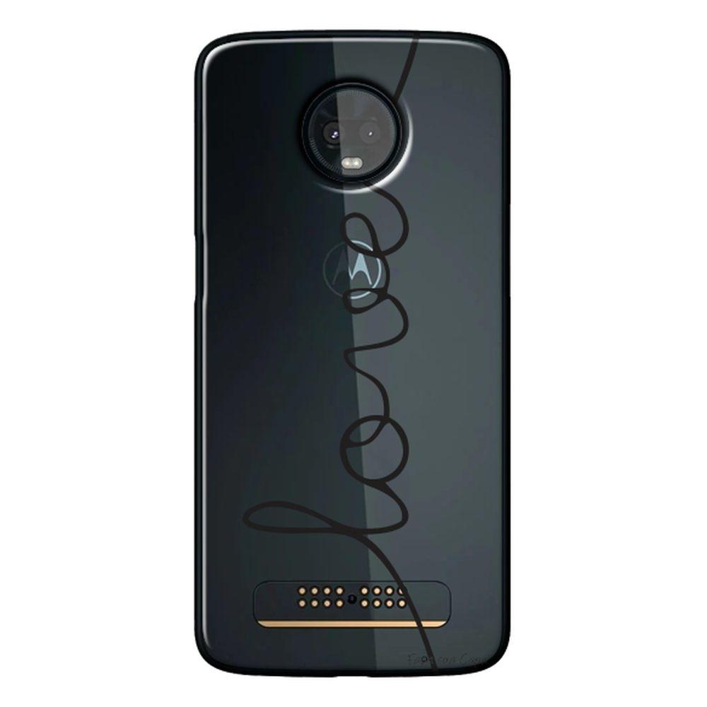 Capa Personalizada para Motorola Moto Z3 Play - Frases - TP150