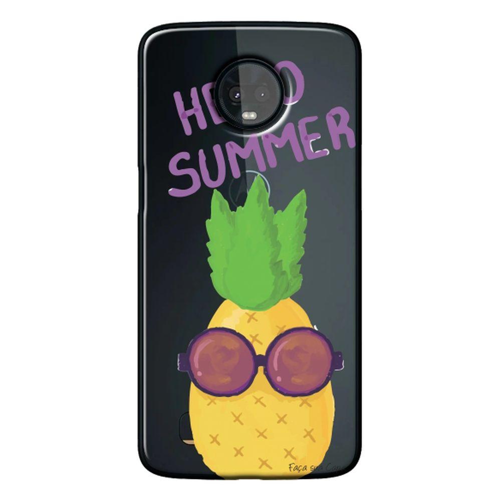 Capa Personalizada para Motorola Moto Z3 Play - Hello Summer - TP322