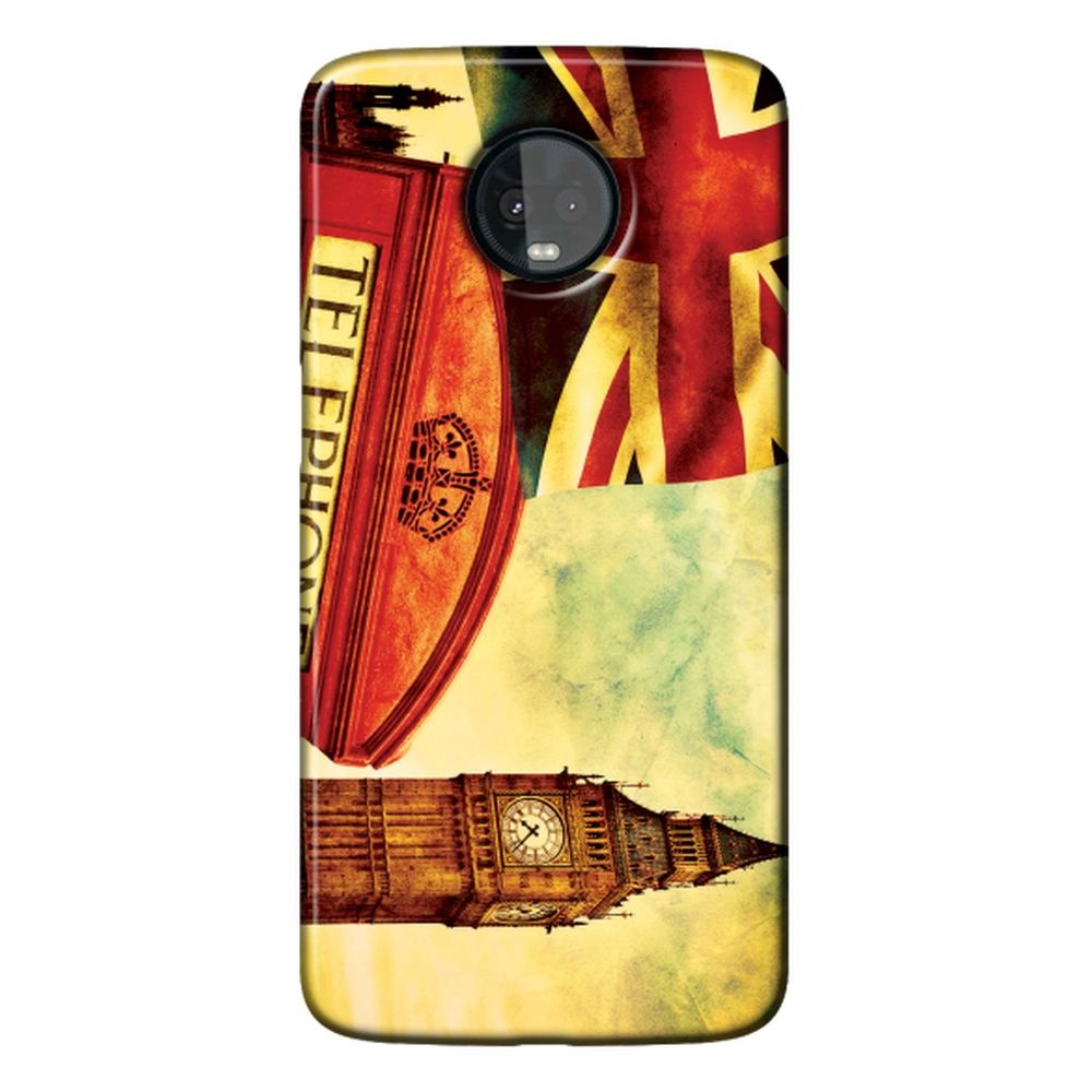 Capa Personalizada para Motorola Moto Z3 Play - London - CD15