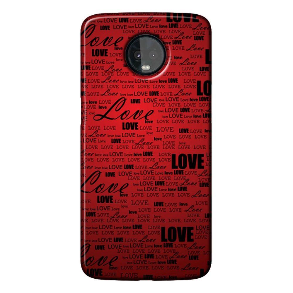 Capa Personalizada para Motorola Moto Z3 Play - Love - LV06