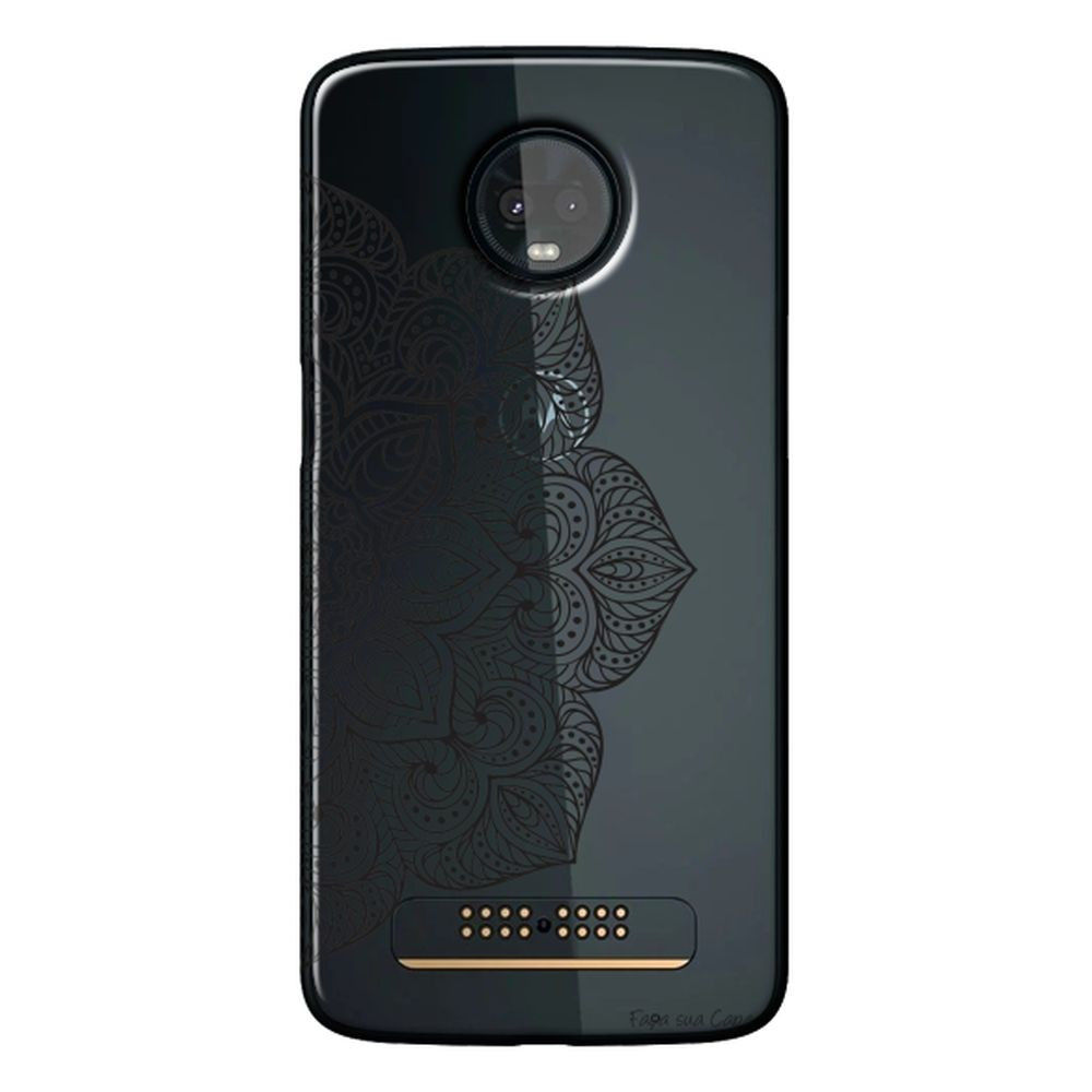 Capa Personalizada para Motorola Moto Z3 Play - Mandala - TP32