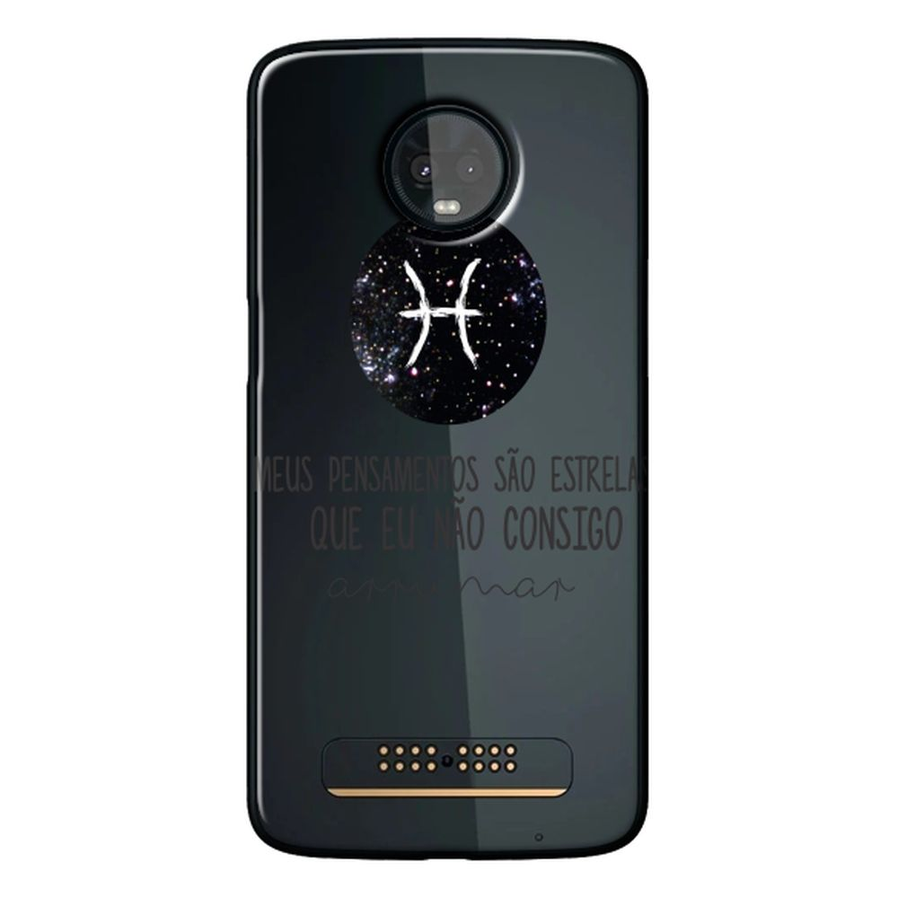 Capa Personalizada para Motorola Moto Z3 Play - Signos - SN24