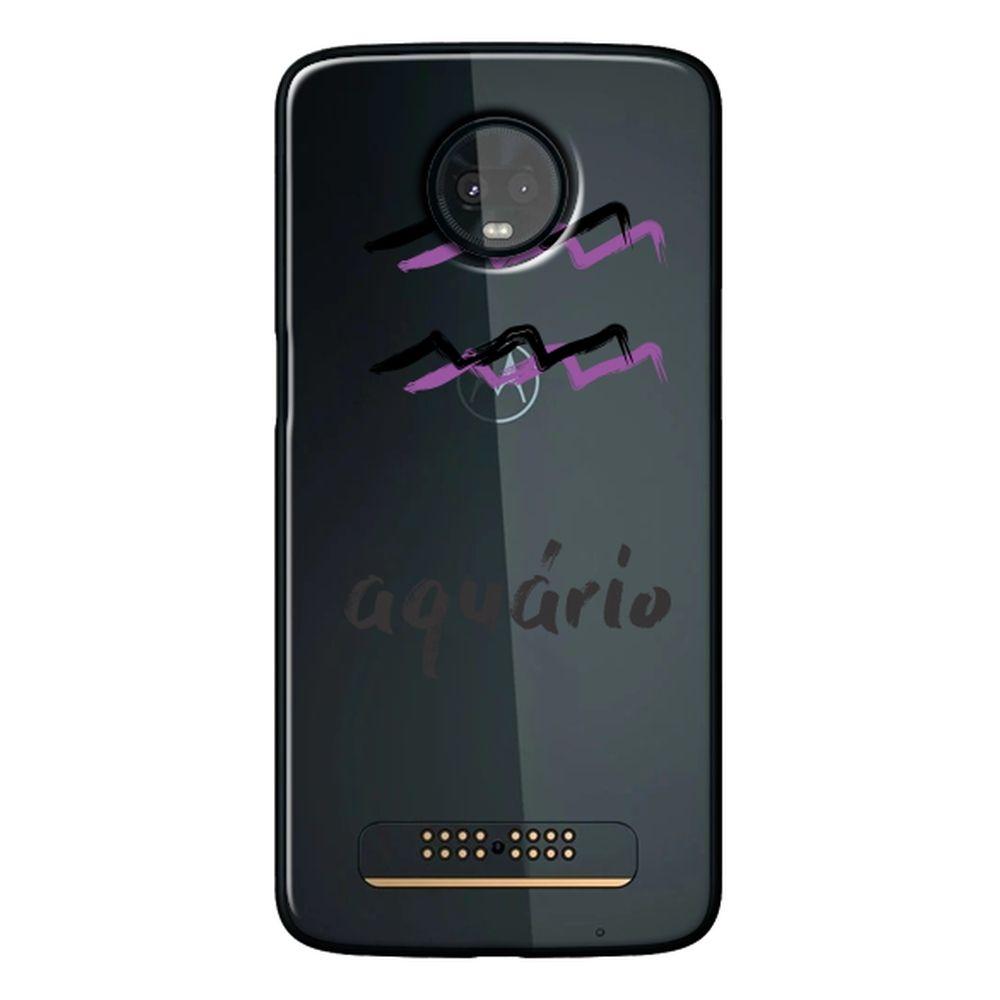 Capa Personalizada para Motorola Moto Z3 Play - Signos - SN35