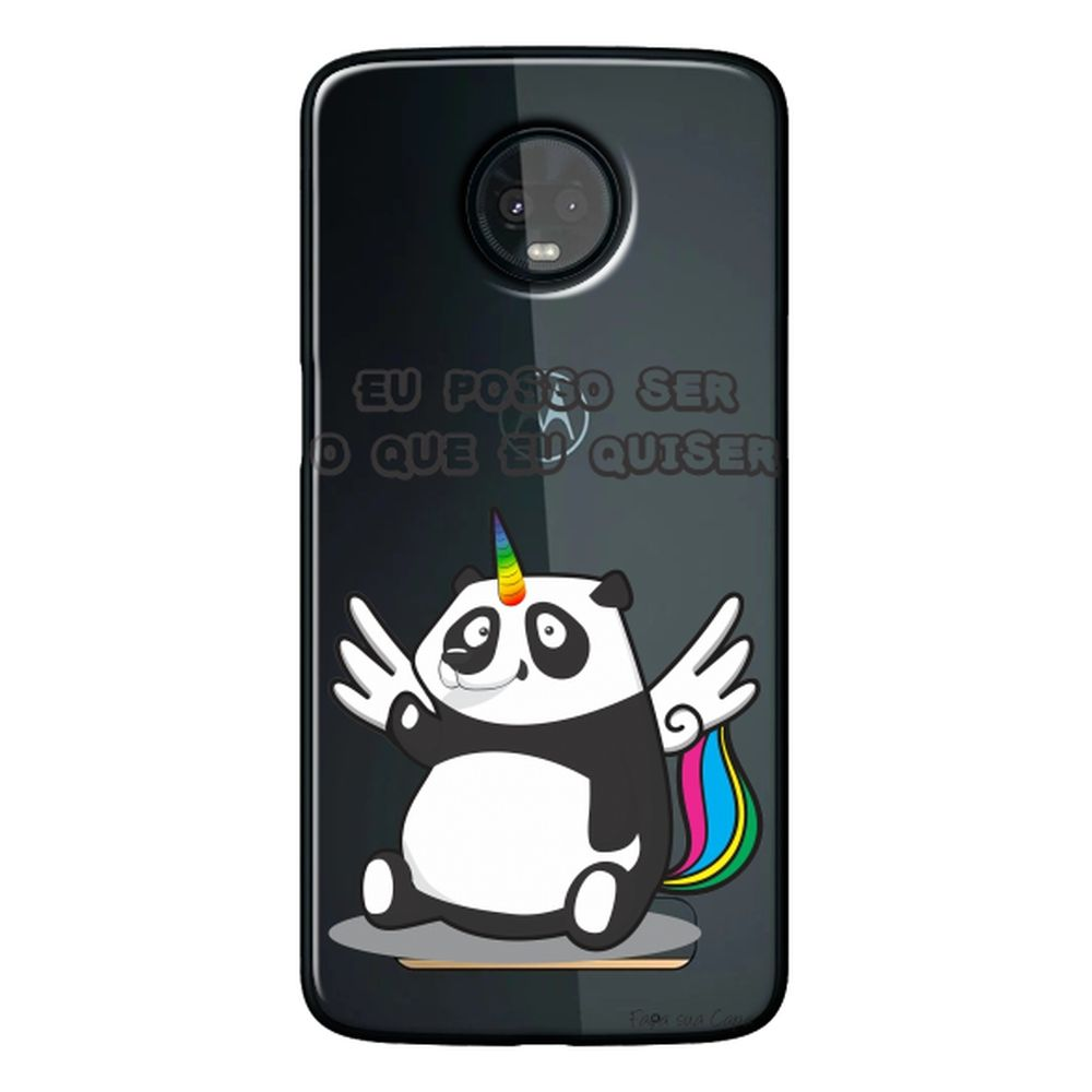 Capa Personalizada para Motorola Moto Z3 Play - Unicórnio - TP185