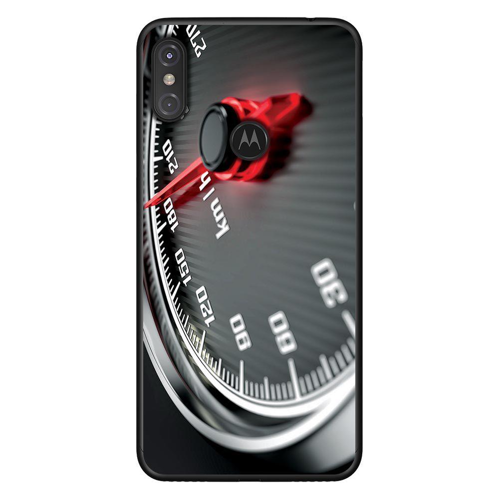 Capa Personalizada Motorola One Power - Velocímetro - VL06