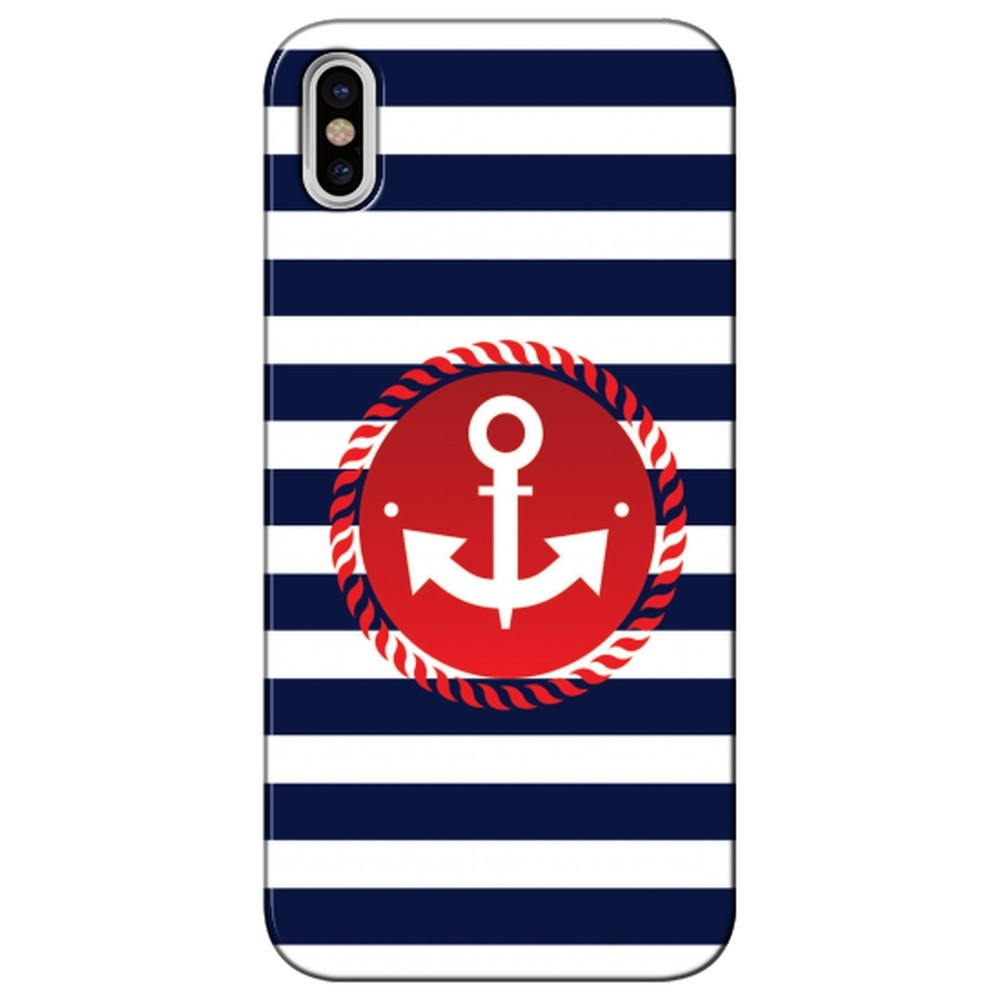 Capa Personalizada para Apple Iphone X - Âncora - TX07