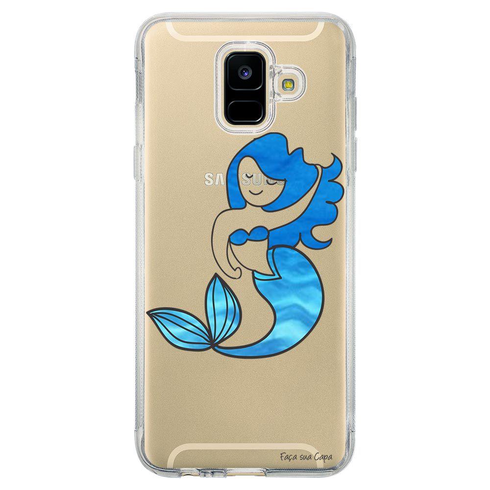 Capa Personalizada Samsung Galaxy A6 A600 Sereia - TP301