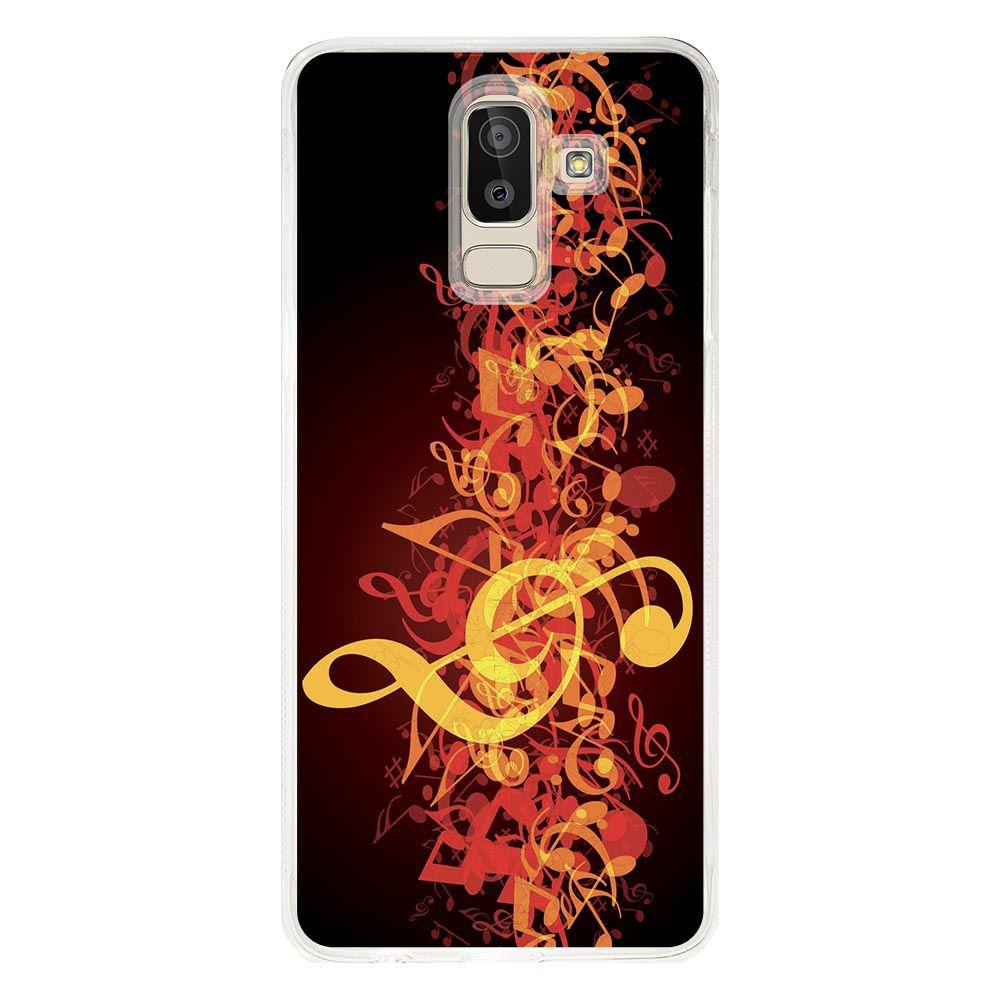 Capa Personalizada para Samsung Galaxy J8 J800 Música - MU09