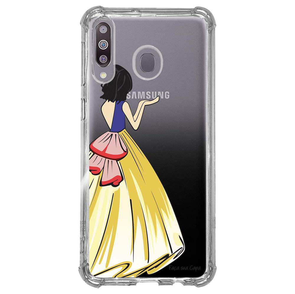 Capa Personalizada Samsung Galaxy M30 M305 - Princesa - TP203