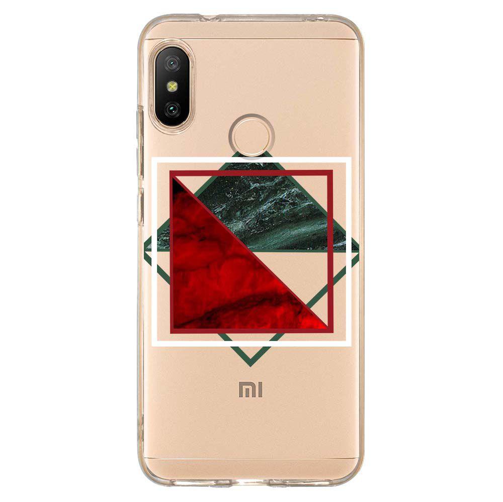 Capa Personalizada Xiaomi Mi A2 Lite Mármore - MM10