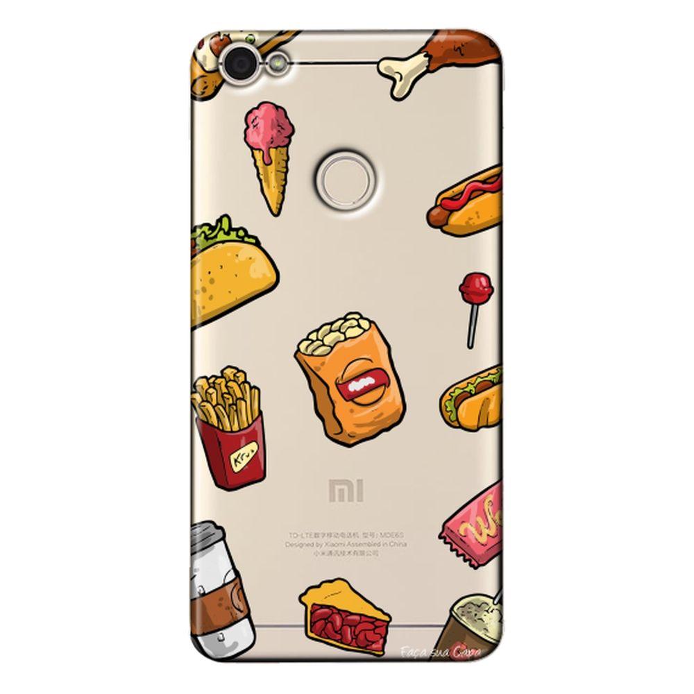 Capa Personalizada Xiaomi Redmi Note 5A - Food - TP105