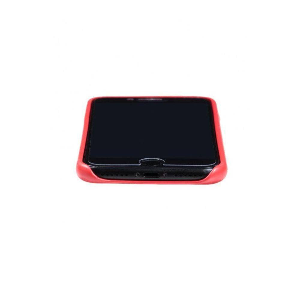 Capa de Couro Premium Case Ikase para Apple iPhone 7/8 - Vermelha