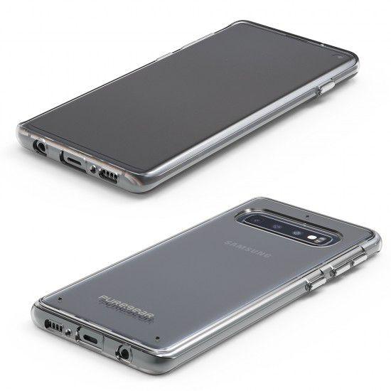 Capa Puregear Slim Shell para Samsung Galaxy S10+ - Transparente