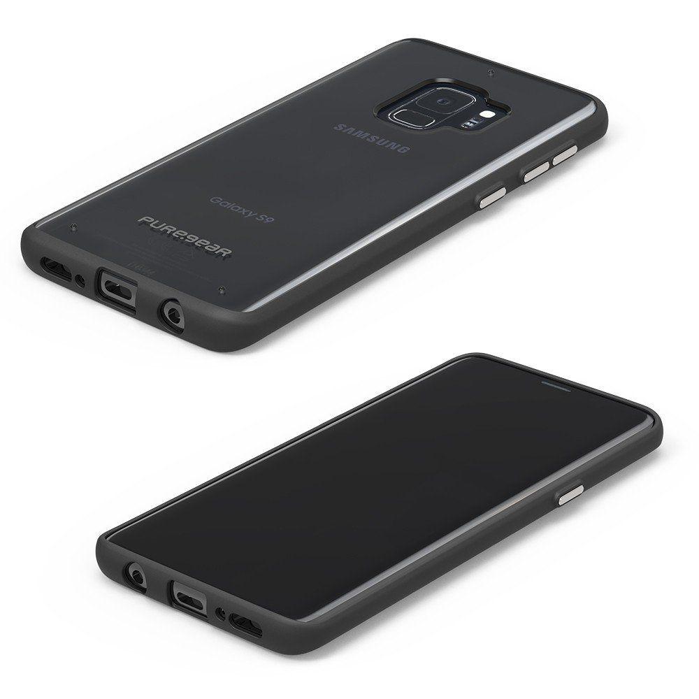 Capa Puregear Slim Shell Samsung Galaxy S9 G960 - Transparente com Borda Preta