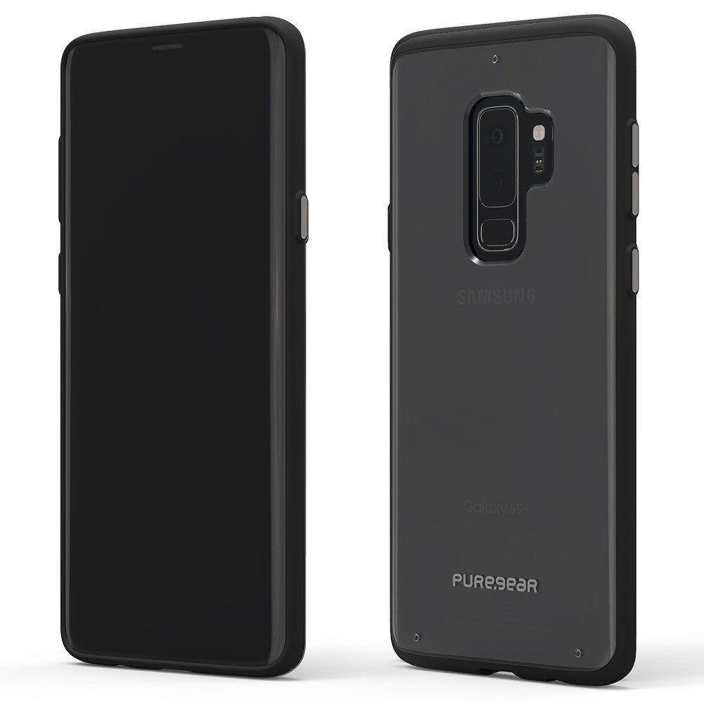 Capa Puregear Slim Shell Samsung Galaxy S9 Plus G965 - Transparente com Borda Preta