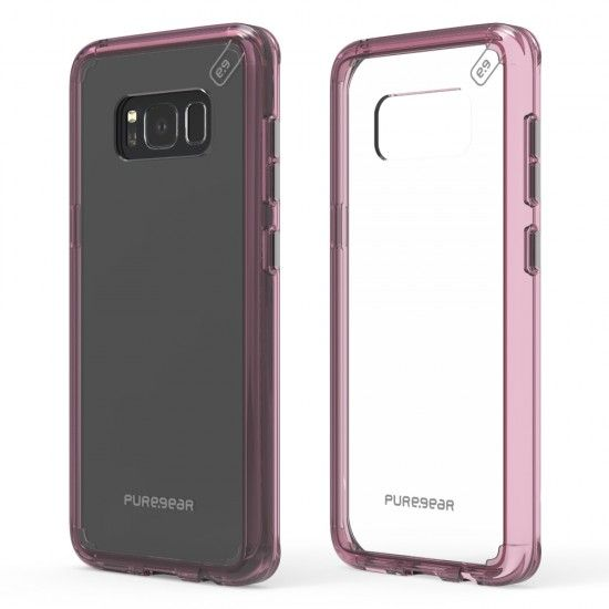 Capa de Celular Puregear Slim ShellPro Samsung Galaxy S8 Plus G955 - Rosa