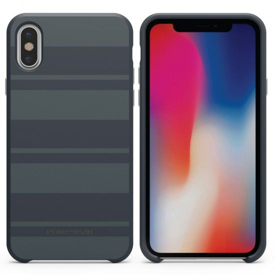 Capa de Celular Puregear SoftTek Apple iPhone X - Azul